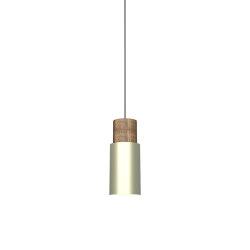 Log 10 Pendant Light Matt Brass | Suspended lights | Valaisin Grönlund