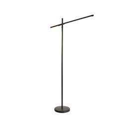 Piano Led Black Floor Lamp | Standleuchten | Valaisin Grönlund