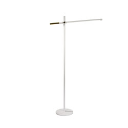 Piano Led White Floor Lamp | Free-standing lights | Valaisin Grönlund