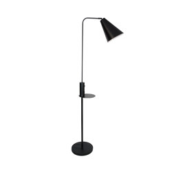 Vigo USB Black Floor Lamp | Smart phone / Tablet docking stations | Valaisin Grönlund