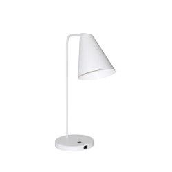 Vigo USB White Table Lamp | Smart phone / Tablet docking stations | Valaisin Grönlund