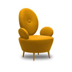 AYI | ARMCHAIR | Yellow | Armchairs | Maison Dada