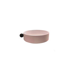 CHINOISERIES | Decorative Box | Complementary Tray with Knob | Pink | Storage boxes | Maison Dada