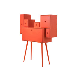 CONFIDENCE OF A CLOUD | Secretary Desk | Orange | Bureaux | Maison Dada