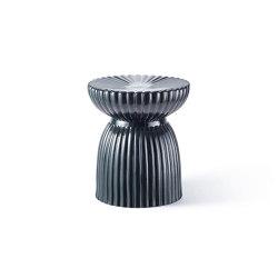 DU ROY | Ceramic Stool | Black | Taburetes | Maison Dada