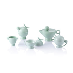 EBEKI | Tea & Coffee Set | Green | Vajilla | Maison Dada