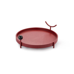 ITA ITA | Tray | Red | Trays | Maison Dada