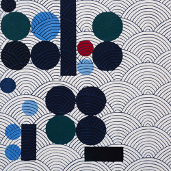 JAPANESE ABSTRACTIONS | Rug N4 | Rugs | Maison Dada