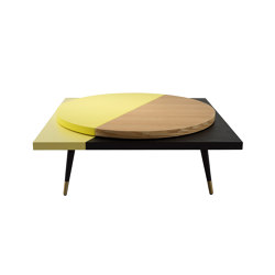 LAZY SUSAN | Coffee Table | Yellow | Mesas de centro | Maison Dada