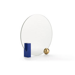 LOOKING FOR DORIAN | Table mirror | Blue | Espejos | Maison Dada