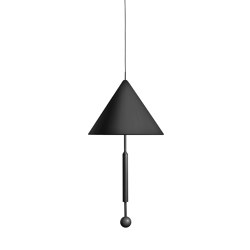 OBJECT OF DISCUSSION   Pendant Lamp   Black   Suspended lights   Maison Dada
