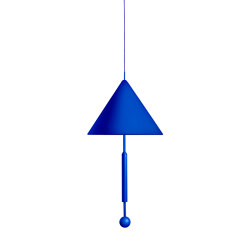 OBJECT OF DISCUSSION   Pendant Lamp   Blue   Suspended lights   Maison Dada