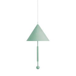 OBJECT OF DISCUSSION   Pendant Lamp   Celadon Green   Suspended lights   Maison Dada