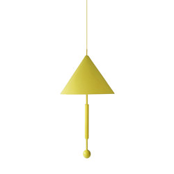 OBJECT OF DISCUSSION | Pendant Lamp | Yellow | Lámparas de suspensión | Maison Dada