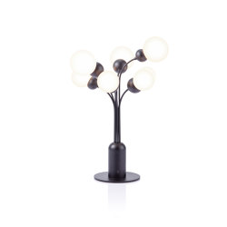P.E.A.C.E | Table Lamp | Black | Luminaires de table | Maison Dada