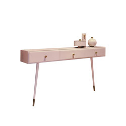 SÉLAVY WALL CONSOLE | Wall Console | Pink | Console tables | Maison Dada