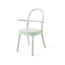 SI SOPHIE S'ASSOIT | Chair with Armrests | Celadon Green | Sillas | Maison Dada