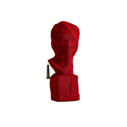THIS IS NOT A SELF PORTRAIT | Decorative Object | Red | Objets | Maison Dada