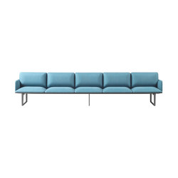 Square Modular Seating 5 Seaters | Sofas | Sellex