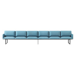 Square Modular Seating 6 Sitze | Sofas | Sellex