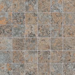 Petrae Muschelkalk Brown Mosaico R | Carrelage céramique | Refin