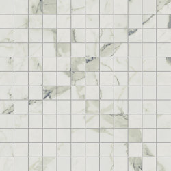 Prestigio Statuario Mosaico | Keramik Fliesen | Refin