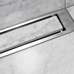 HighLine | Custom with frame | Linear drains | Unidrain