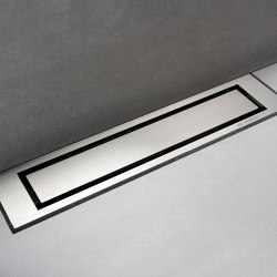 HighLine Colour | Brushed steel | Linear drains | Unidrain