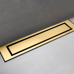 HighLine Colour | Brass | Linear drains | Unidrain