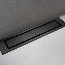 HighLine Colour | Black | Linear drains | Unidrain