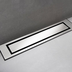 HighLine Colour | Hand-polished steel | Linear drains | Unidrain