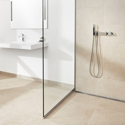 Shower wall | Transparent | Parois de douches | Unidrain