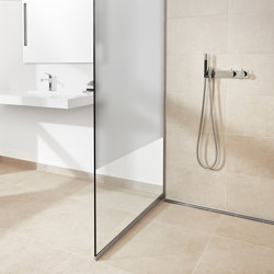 Shower wall | Semi mat | Shower screens | Unidrain