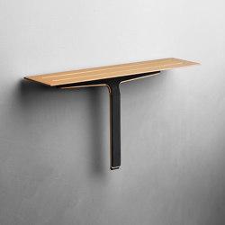 Reframe Collection | Soap shelf and shower wiper - copper | Bath shelves | Unidrain