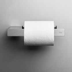 Reframe Collection   Toilet paper holder - brushed steel   Paper roll holders   Unidrain