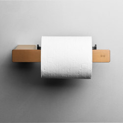 Reframe Collection | Toilet paper holder - copper | Paper roll holders | Unidrain