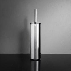 Reframe Collection | Toilet brush, floor - polished steel | Toilet brush holders | Unidrain