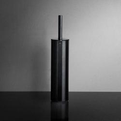 Reframe Collection | Toilet brush, floor - black | Toilet brush holders | Unidrain