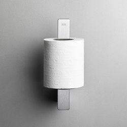 Reframe Collection | Toilet paper holder spare - brushed steel | Paper roll holders | Unidrain