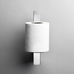 Reframe Collection | Toilet paper holder spare - polished steel | Paper roll holders | Unidrain