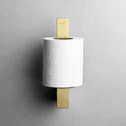 Reframe Collection | Toilet paper holder spare - brass | Paper roll holders | Unidrain