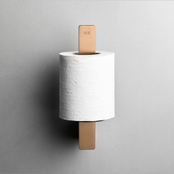 Reframe Collection | Toilet paper holder spare - copper | Paper roll holders | Unidrain