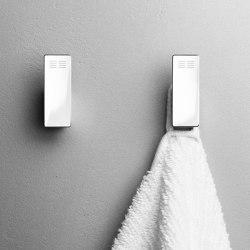 Reframe Collection | Hooks - polished steel | Towel rails | Unidrain
