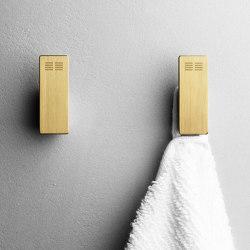 Reframe Collection | Hooks - brass | Towel rails | Unidrain