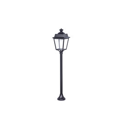 Place des Vosges 1 Évolution Model 10 | Outdoor floor-mounted lights | Roger Pradier
