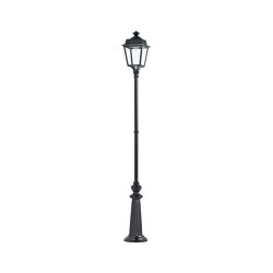 Place des Vosges 1 Évolution Model 12 | Outdoor floor-mounted lights | Roger Pradier