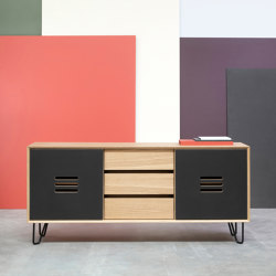 Sideboard NOBLE with 3 drawers | Credenze | Radis Furniture