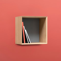NOBLE single cube without the door | Shelving | Radis Furniture