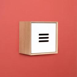 NOBLE single cube with the linoleum door | Estantería | Radis Furniture