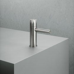 Hb | Stainless steel progressive wash basin mixer | Wash basin taps | Quadrodesign